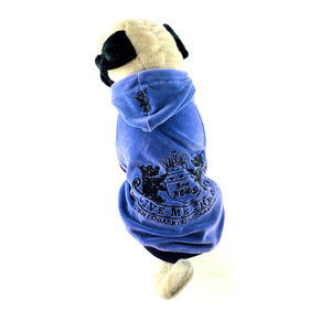 Juicy Couture Give Me Treats Velour Dog Hoodie